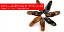 Классификация мужской обуви: просто и последовательно