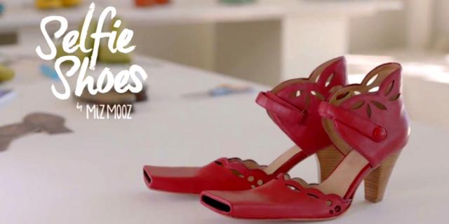 Компания Miz Mooz изобрела Селфи-туфли