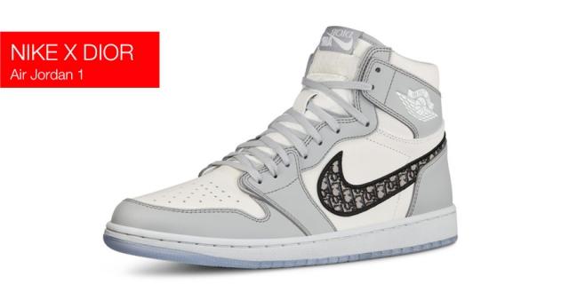 Кроссовки Nike x Dior Air Jordan 1